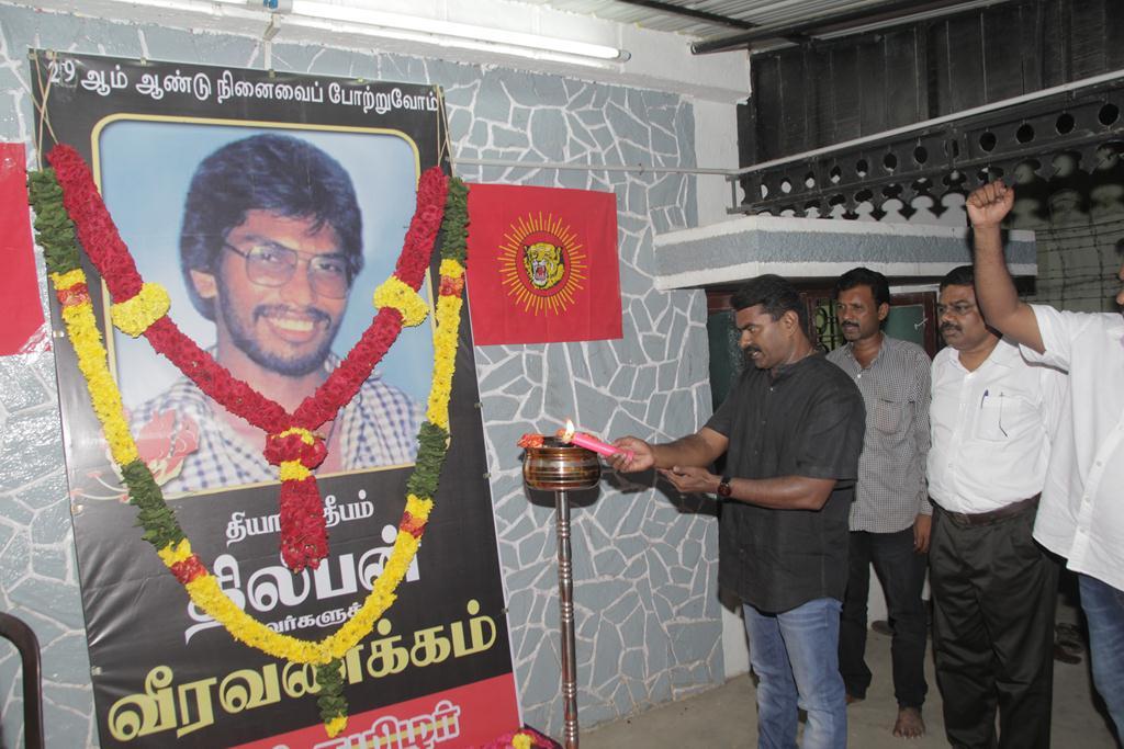 naam-tamilar-seeman-pays-tributes-ltte-thileeban-memorial-day