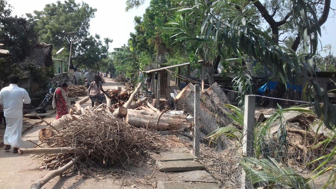 புயலினால் பாதிக்கப்பட்டுள்ள கும்மிடிப்பூண்டி ஈழத்தமிழர் முகாமுக்கு உதவுங்கள் vardha cyclone disaster gummidipoondi eelam camp naam tamilar help7