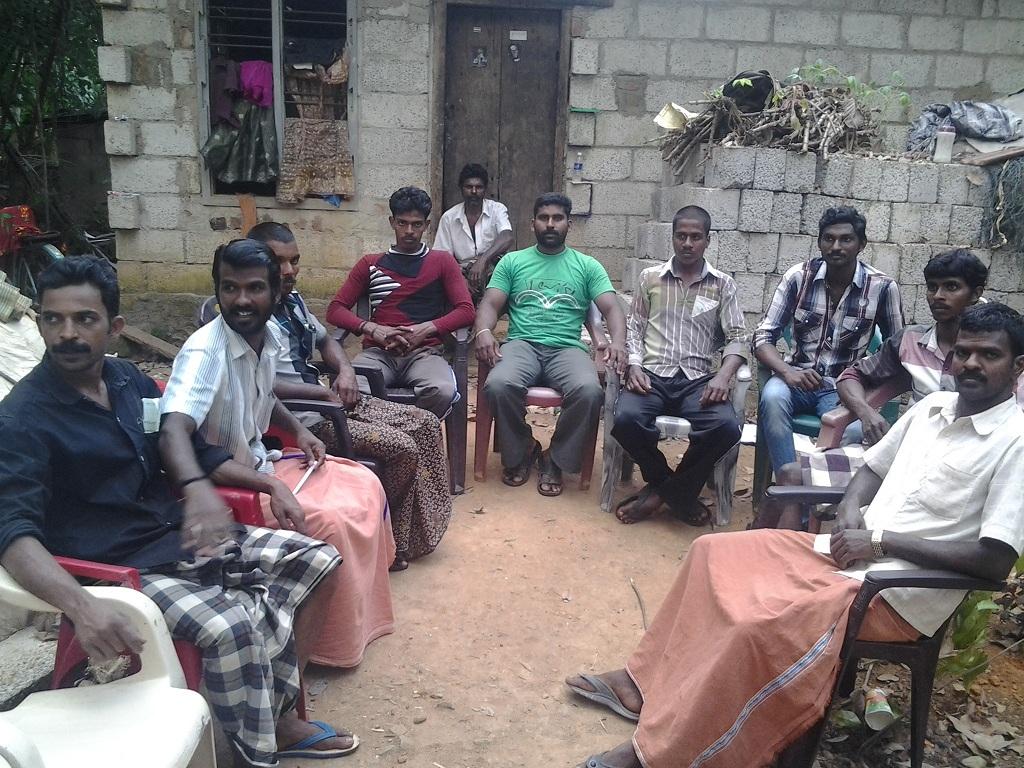 கன்னியாகுமரி மாவட்டம் வேர்கிளம்பி பேரூராட்சி செங்கொடிகிராமத்தில் கலந்தாய்வு. 20130825 225822