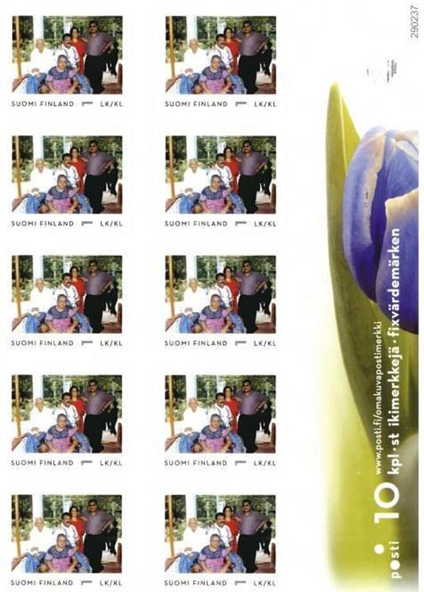 பின்லாந்தில் தேசியத்தலைவர் அவர்களின் குடும்பத்துடனான முதல்தர தபால் வெளியீடு! 036
