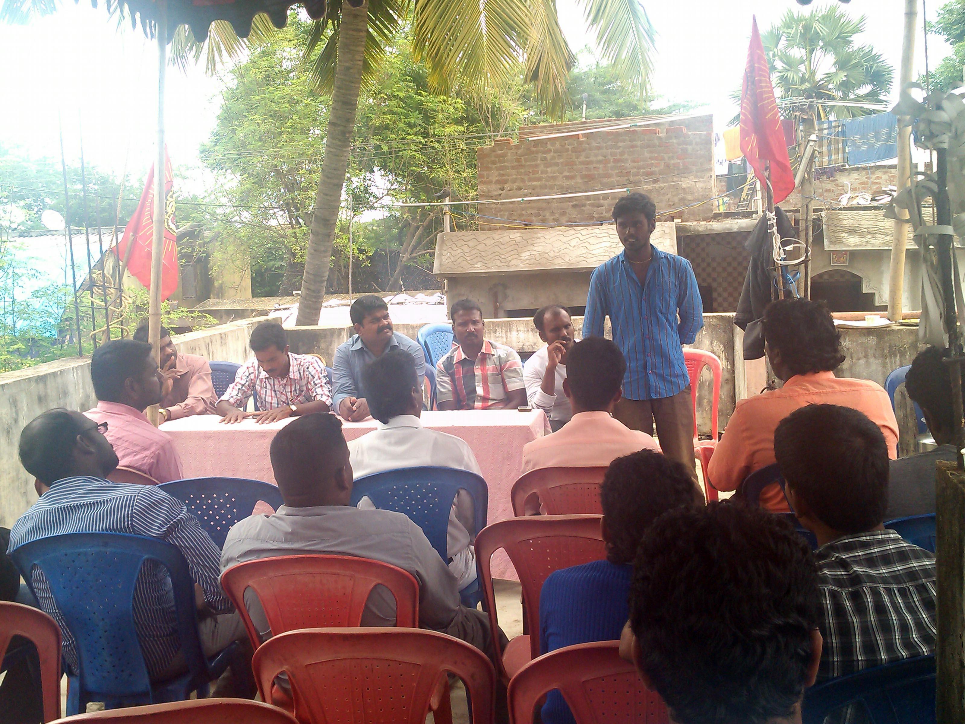 நாம் தமிழர் கட்சின் காஞ்சி மேற்கு மாவட்ட கலந்தாய்வு கூட்டம் நடைபெற்றது. IMG 20131020 135539