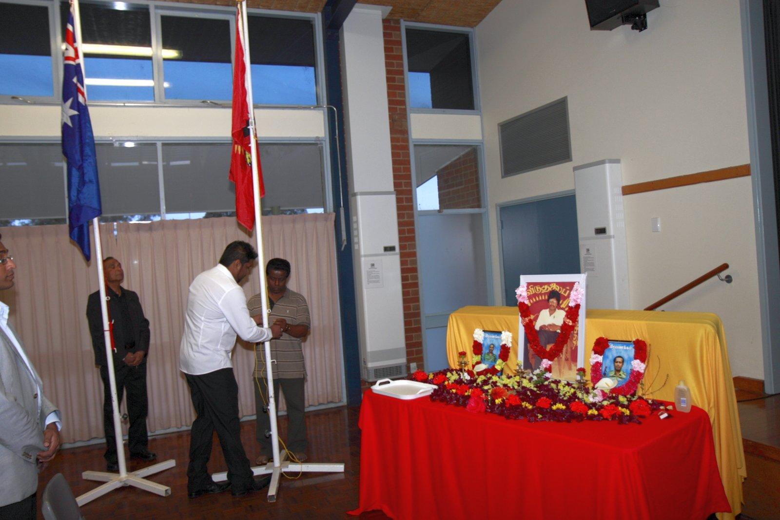மெல்பேர்னில் உணர்வுபூர்வமாக நடைபெற்ற தியாக தீபம் திலீபன் நினைவு கலைமாலை Thiyaki Thileepan Event Melb 02