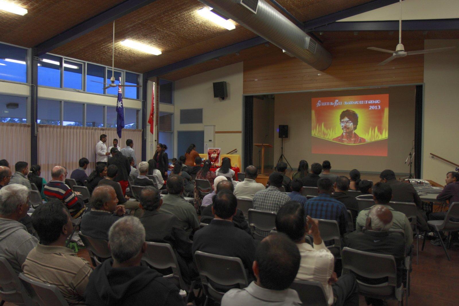 மெல்பேர்னில் உணர்வுபூர்வமாக நடைபெற்ற தியாக தீபம் திலீபன் நினைவு கலைமாலை Thiyaki Thileepan Event Melb 03
