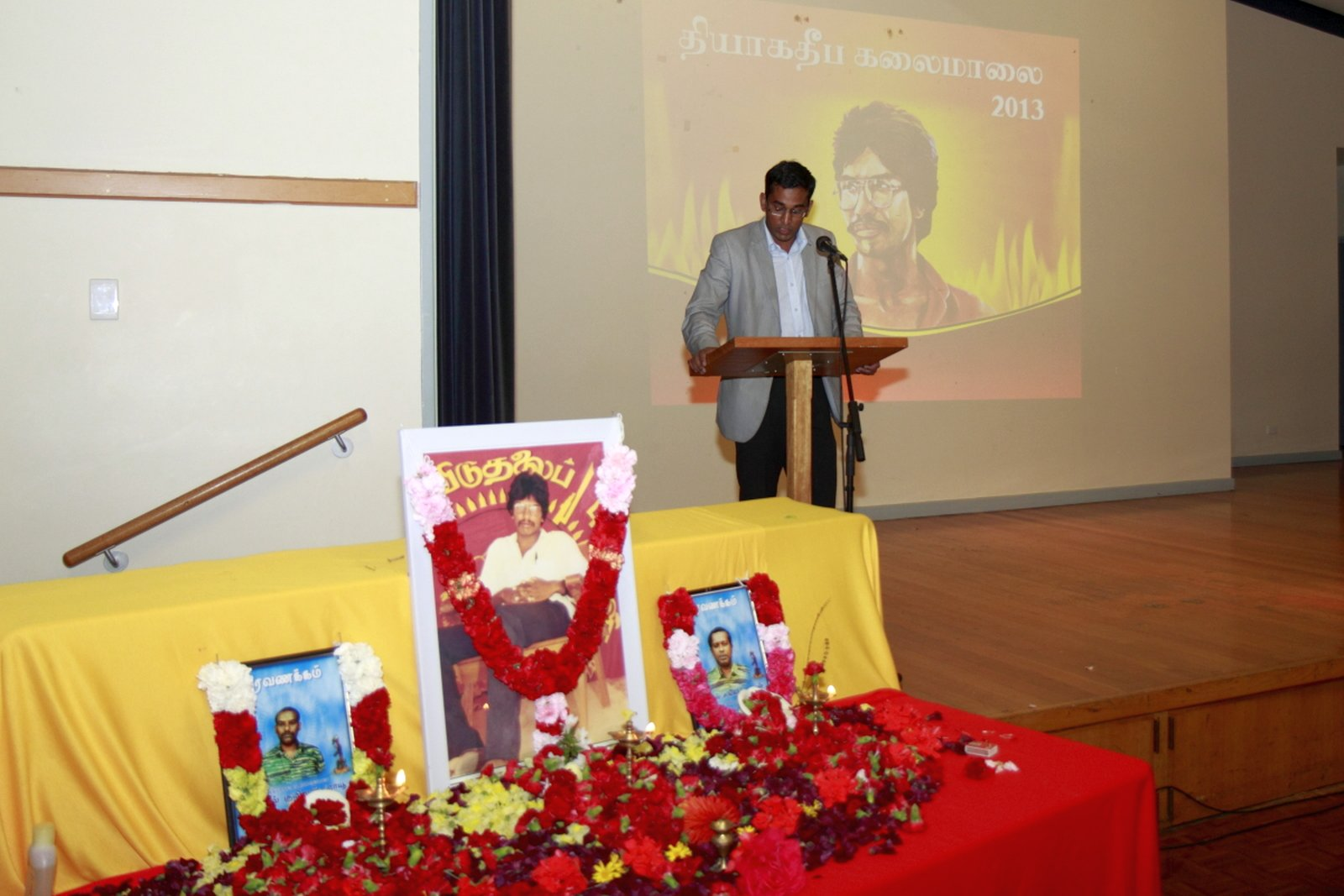 மெல்பேர்னில் உணர்வுபூர்வமாக நடைபெற்ற தியாக தீபம் திலீபன் நினைவு கலைமாலை Thiyaki Thileepan Event Melb 06