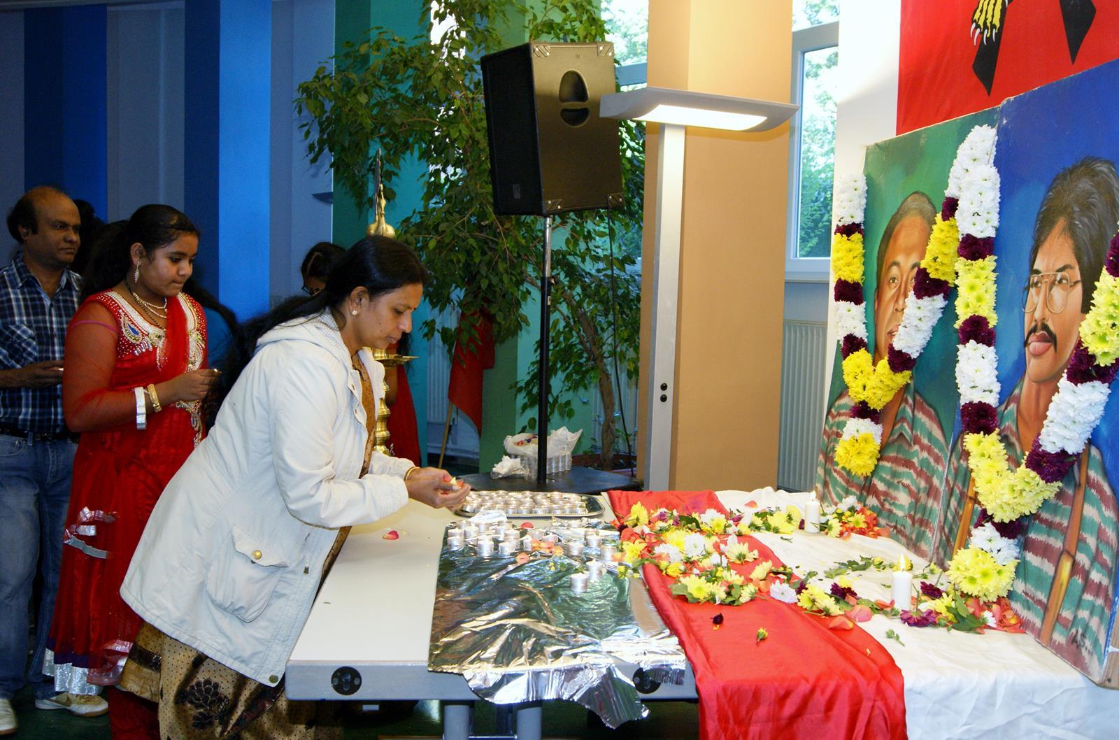 தியாக தீபம் திலீபன் மற்றும் கேணல் சங்கர் ஆகியோர் நினைவு எசன் நகரில் நினைவுகூரப்பட்டது essen1