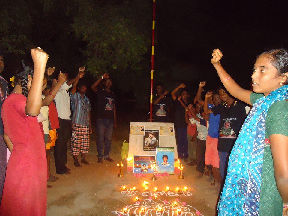 பொன்னமராவதி ஒன்றியம், செம்மலாப்பட்டி கிராமத்தில் மாவீரர் தினம் சிறப்பாக கொண்டாடப்பட்டது. 1470397 477418115712697 849182825 n