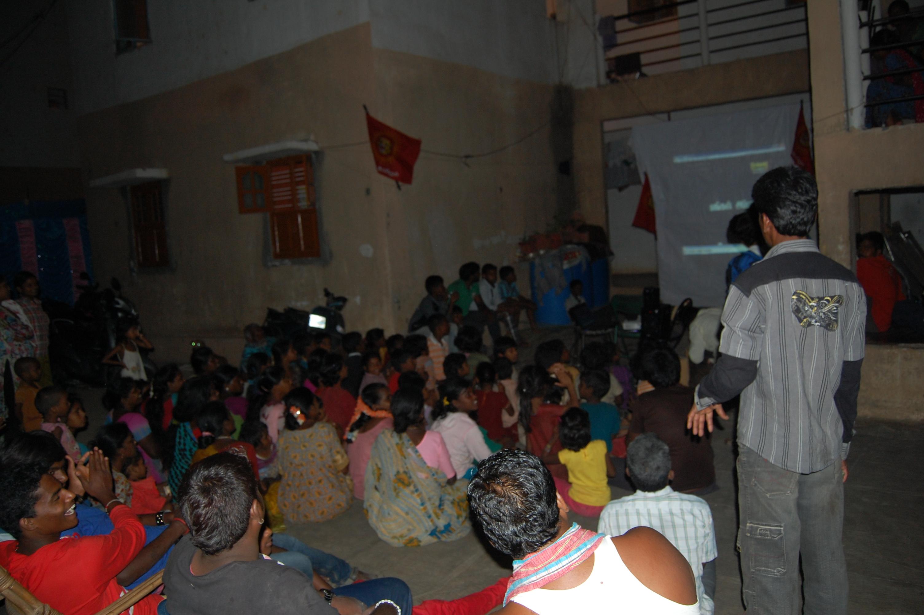 பெங்களூர் ராஜா ரதிச்வரி குப்பத்தில்  கொள்கை விளக்க பிரச்சாரம். DSC 5283